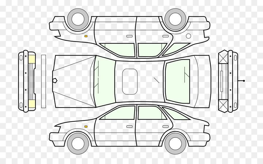 Car Wiring diagram Clip art - car parts png download - 800*556