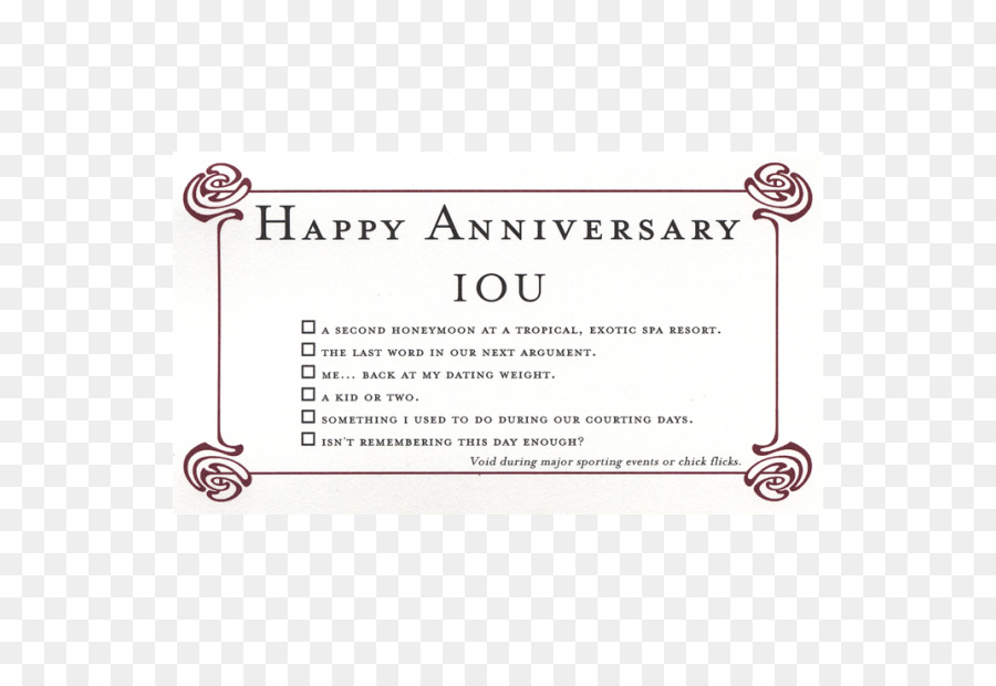 Birthday IOU Anniversary Greeting  Note Cards Credit card - happy