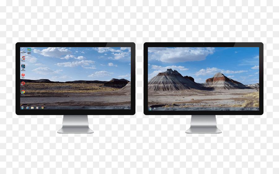 Computer Monitors Display device Multi-monitor Taskbar - monitors - multi screen display