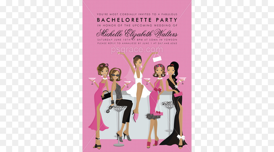 Wedding invitation New Year\u0027s Day Bachelorette party Baby shower - 's day party invitation