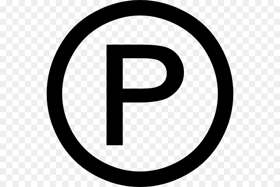 Sound recording copyright symbol Trademark symbol - copyright png
