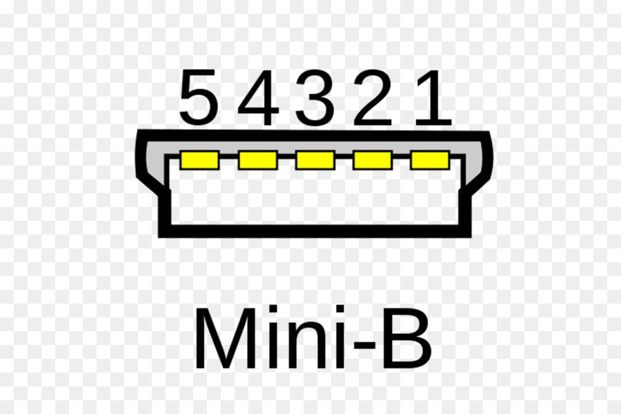 Micro-USB Pinout Mini-USB Wiring diagram - mini png download - 1800