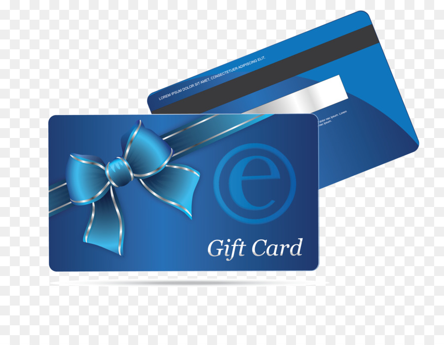 Gift card Loyalty program Retail Business Cards - business card png