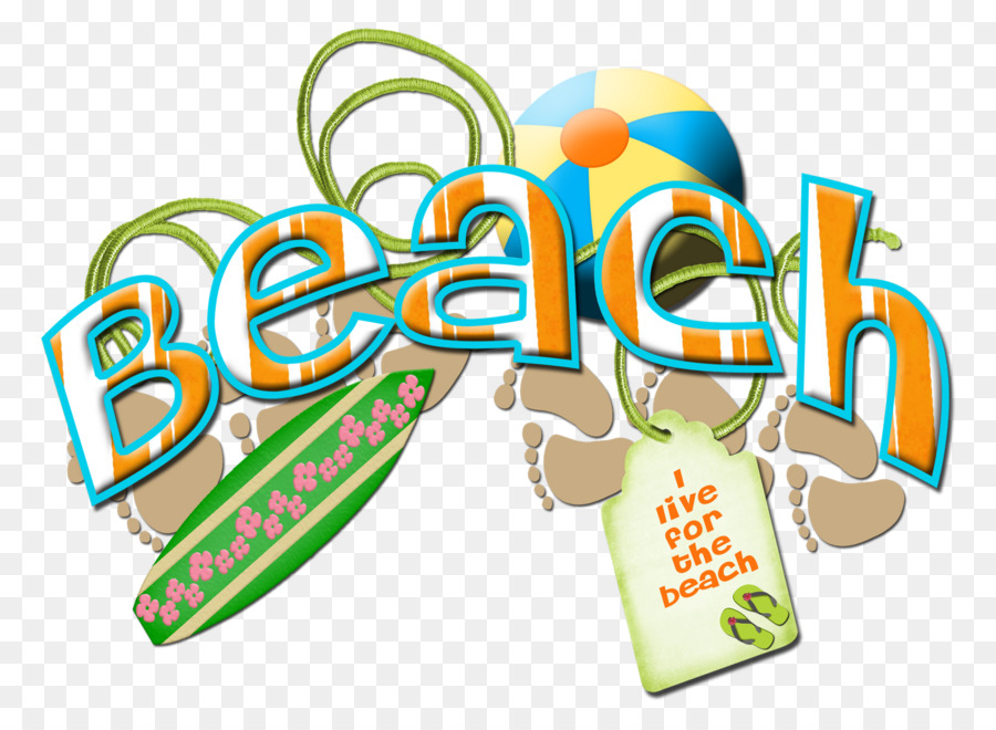 Beach Shore Word Clip art - goods png download - 1600*1143 - Free