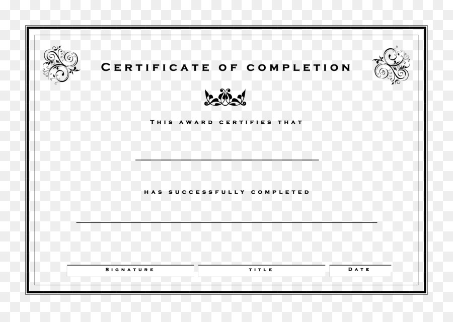 Template Microsoft Word Certificate of Attendance Microsoft Excel