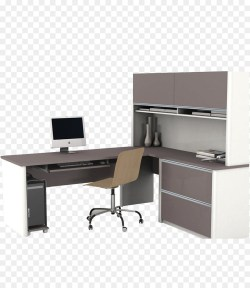 Small Of Office Desk With Hutch