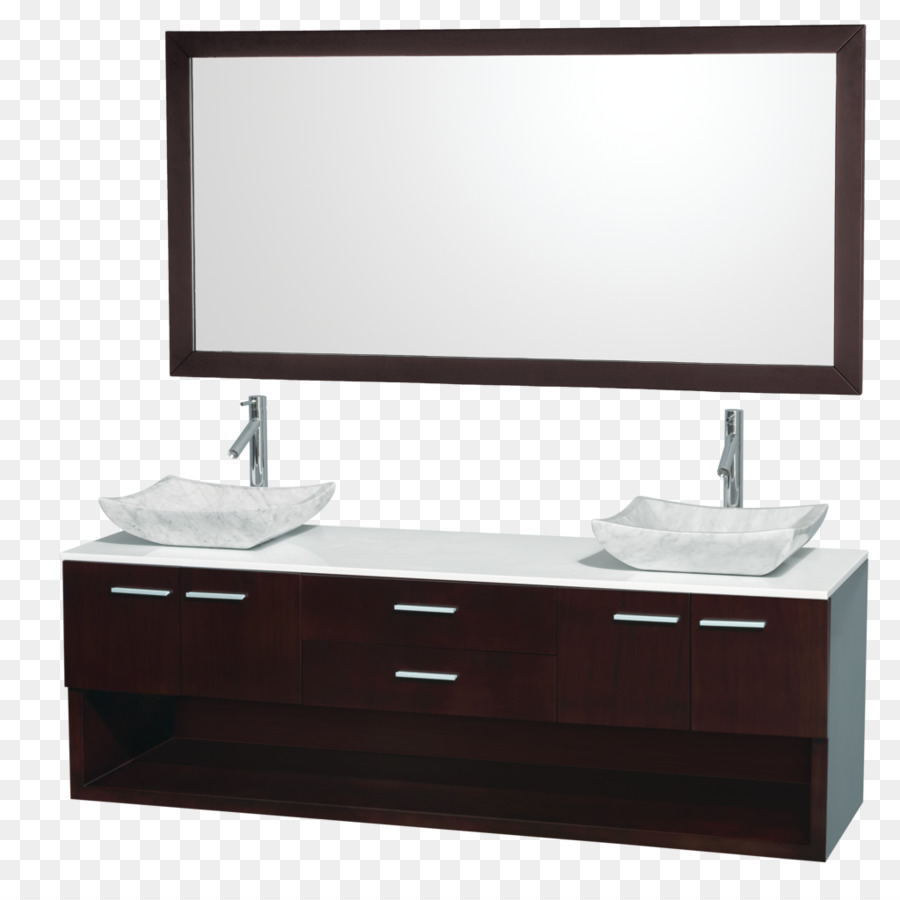 Sideboard Wandhängend Bathroom Cabinet Sink Vanity Countertop Vanity Png Download