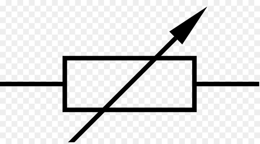 Potentiometer Erreostato Wiring diagram Resistor Electronic symbol