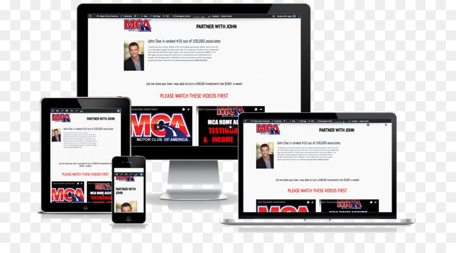 Responsive web design Web development - 4x6 Flyer png download - Responsive Media