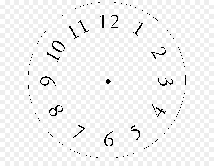 Clock face Template Clip art - mutual clipart png download - 680*681