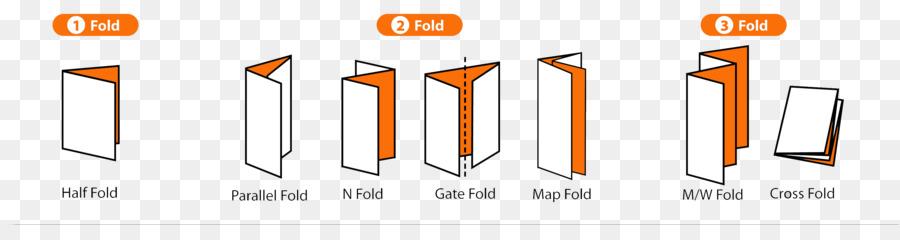 Standard Paper size Flyer Brochure Fold - folds png download - 3247