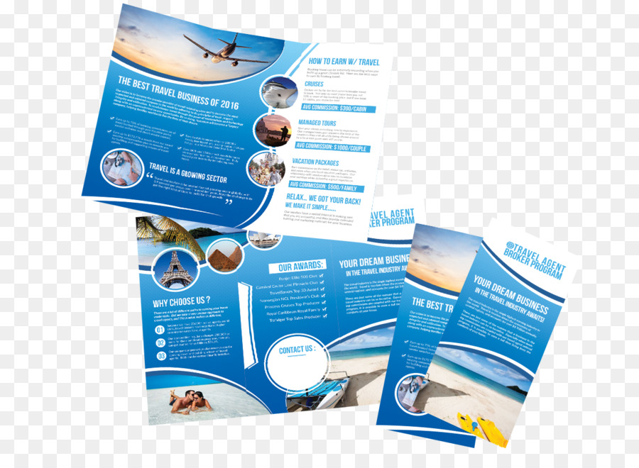 Advertising Brand Water - trifold flyer png download - 1200*857