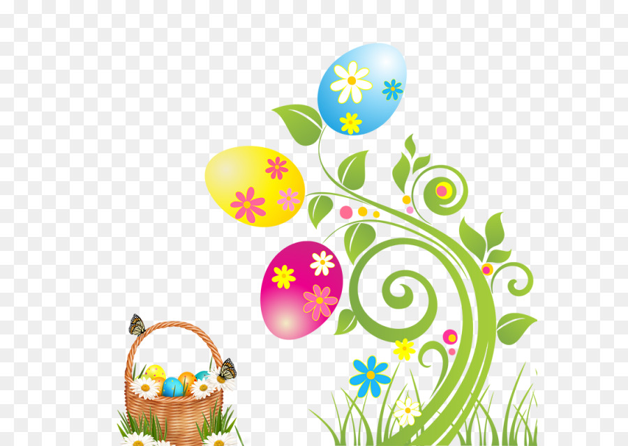 Easter egg Clip art - easter border png download - 640*640 - Free