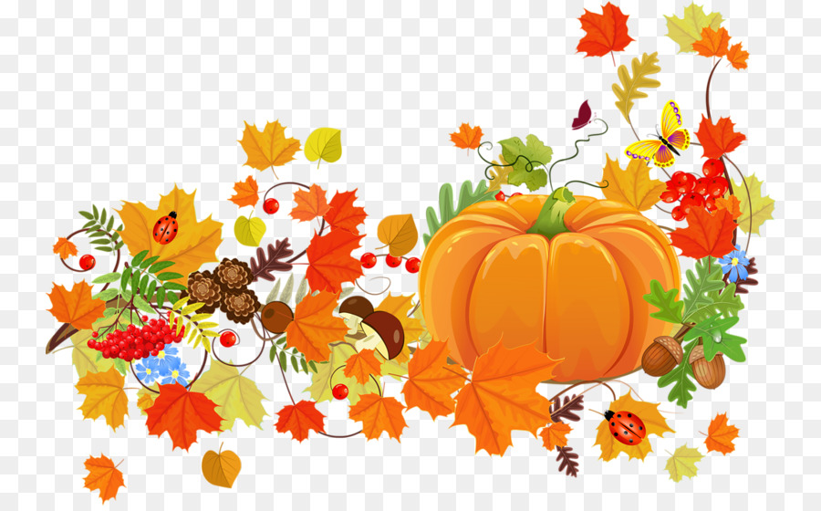 Fall Pumpkin Computer Wallpaper Thanksgiving Dinner Harvest Festival Clip Art