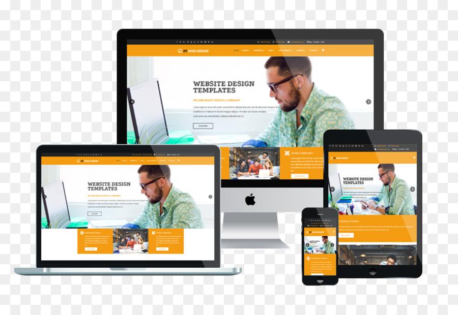 Responsive web design Web development Web template system - Web