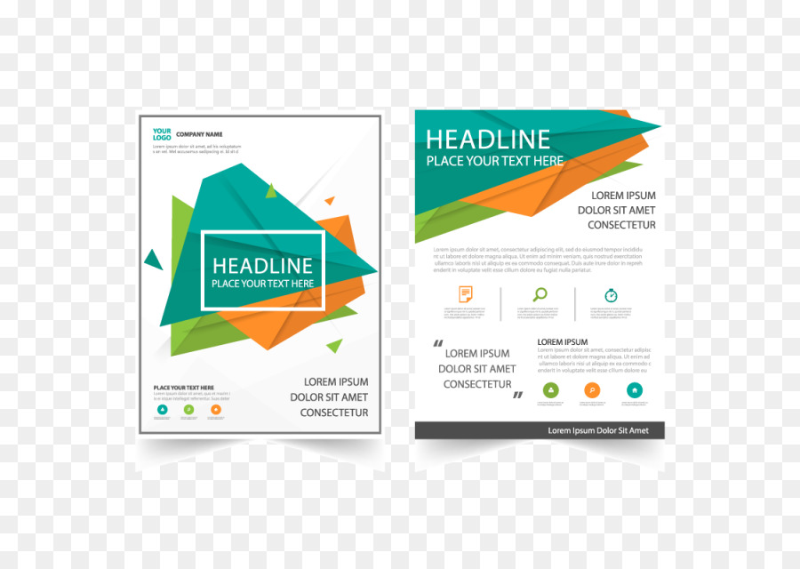 Flyer Page layout Brochure Publishing - Abstract Flyer png download
