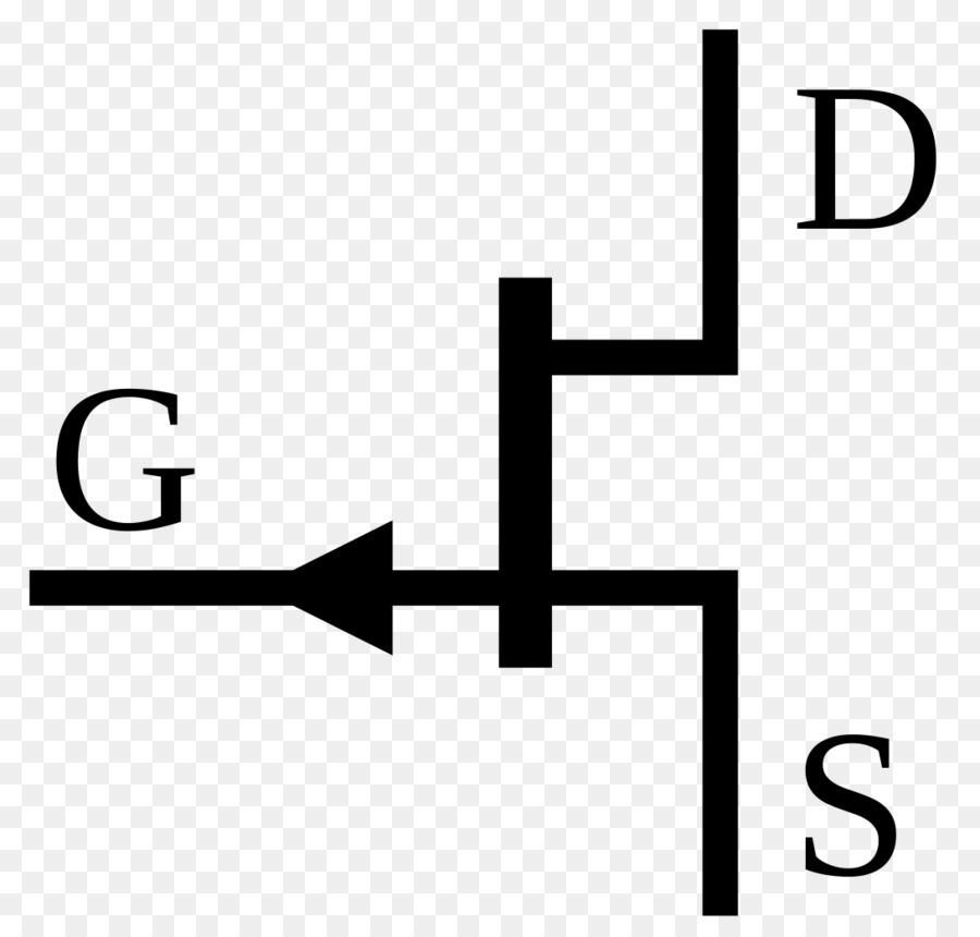 JFET Electronic symbol Field-effect transistor MOSFET - transistor - mos transistor