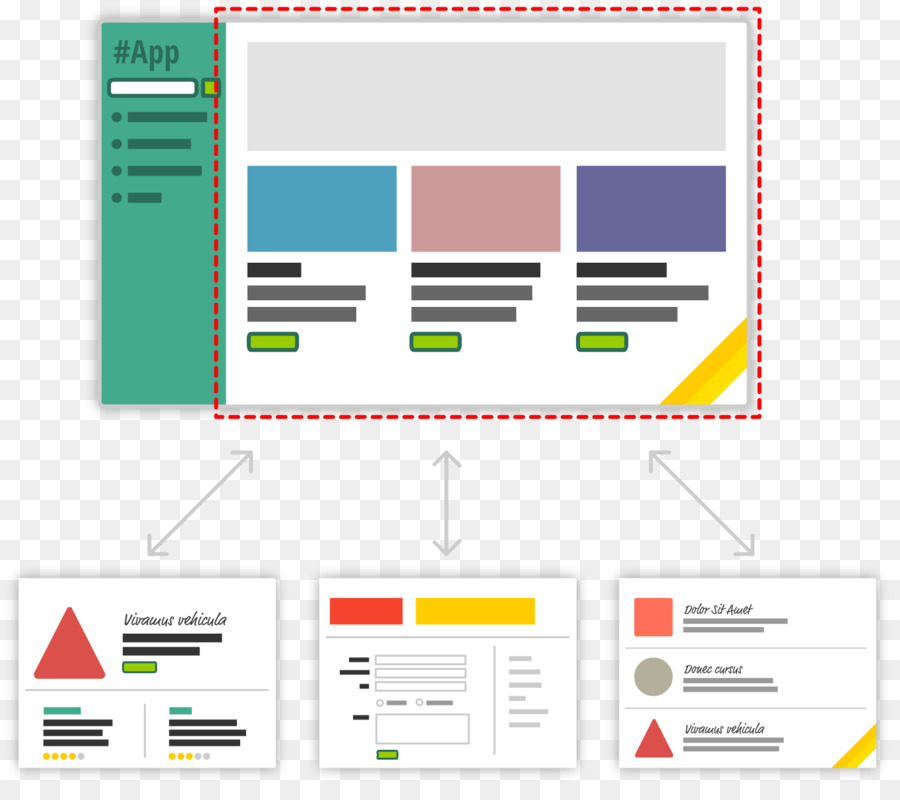 Single-page application React Web application AngularJS - others png