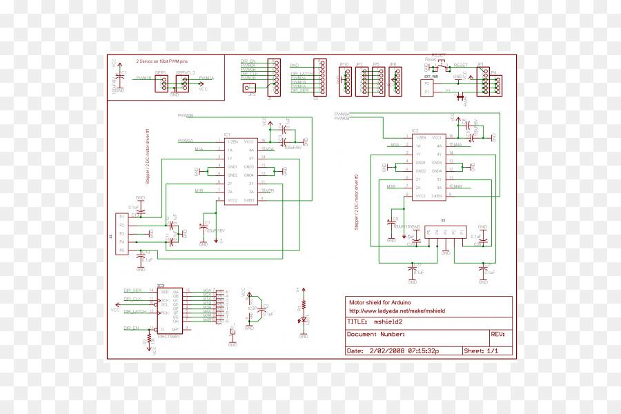 Arduino Schematic Electric motor Wiring diagram Stepper motor
