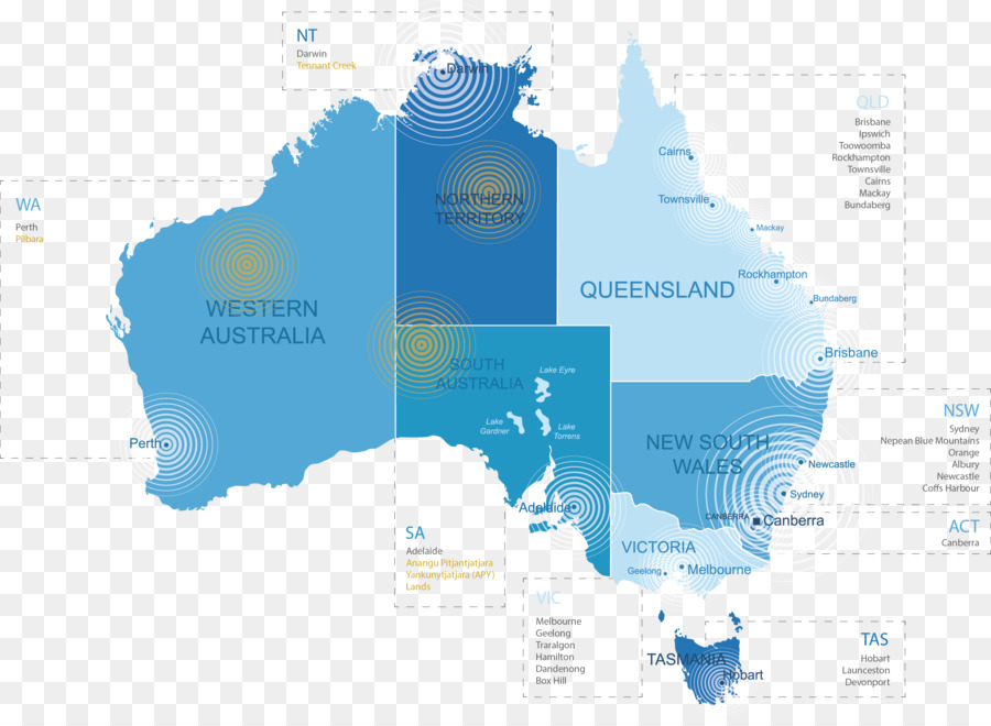 Australia Blank map Vector Map World map - main map background png