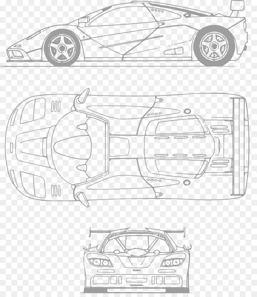 Jaguar Xj13 Blueprint Sports Car Ferrari 330 Blueprint Sports Car Png Download 1683