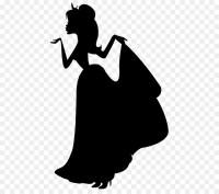 Silhouette Disney Princess Clip art - Silhouette png ...