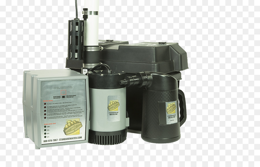 Sump pump Backup battery Plumbing - others png download - 864*576