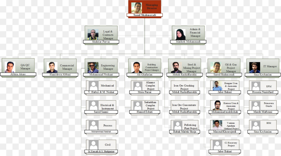 QA/QC Organizational chart Project Quality assurance - others png