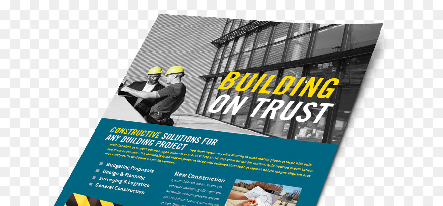 Architectural engineering Marketing brochure Flyer - design png