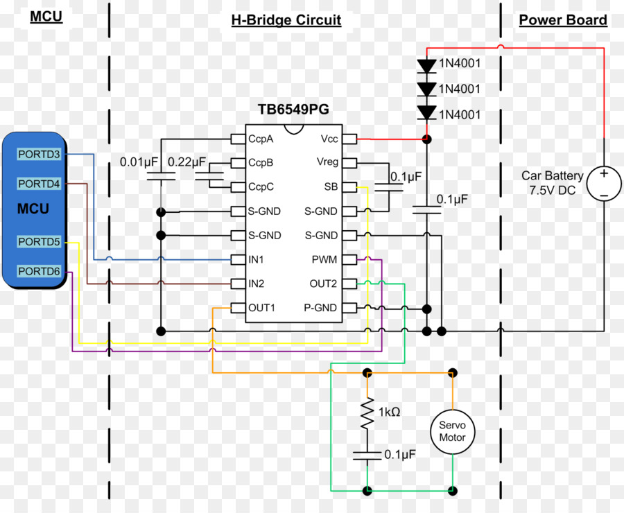Wiring H Bridge - Wiring Diagram Progresif