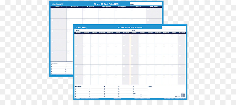 Personal organizer Planning Diary Calendar - others png download