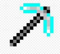 Minecraft Terraria Pickaxe Mod Gold