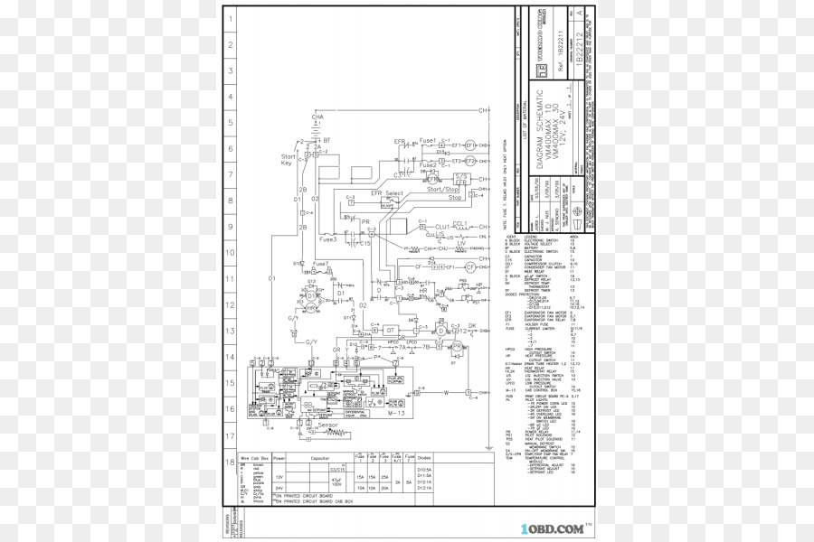 Thermo King Wiring Schematics Electronic Schematics collections