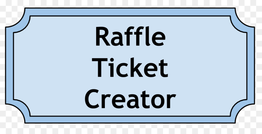 Raffle Template Microsoft Word Ticket - raffle ticket png download