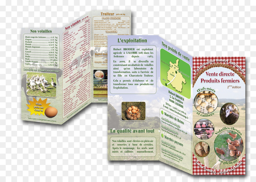 Farm Direct selling Brochure Folded leaflet Flyer - others png - selling flyer