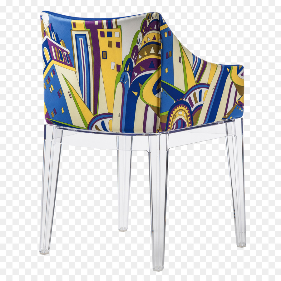 Fauteuil Ghost Wing Chair Kartell Fauteuil Cadeira Louis Ghost Chair Png