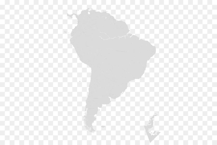 South America Blank map Latin America Creative work - map png
