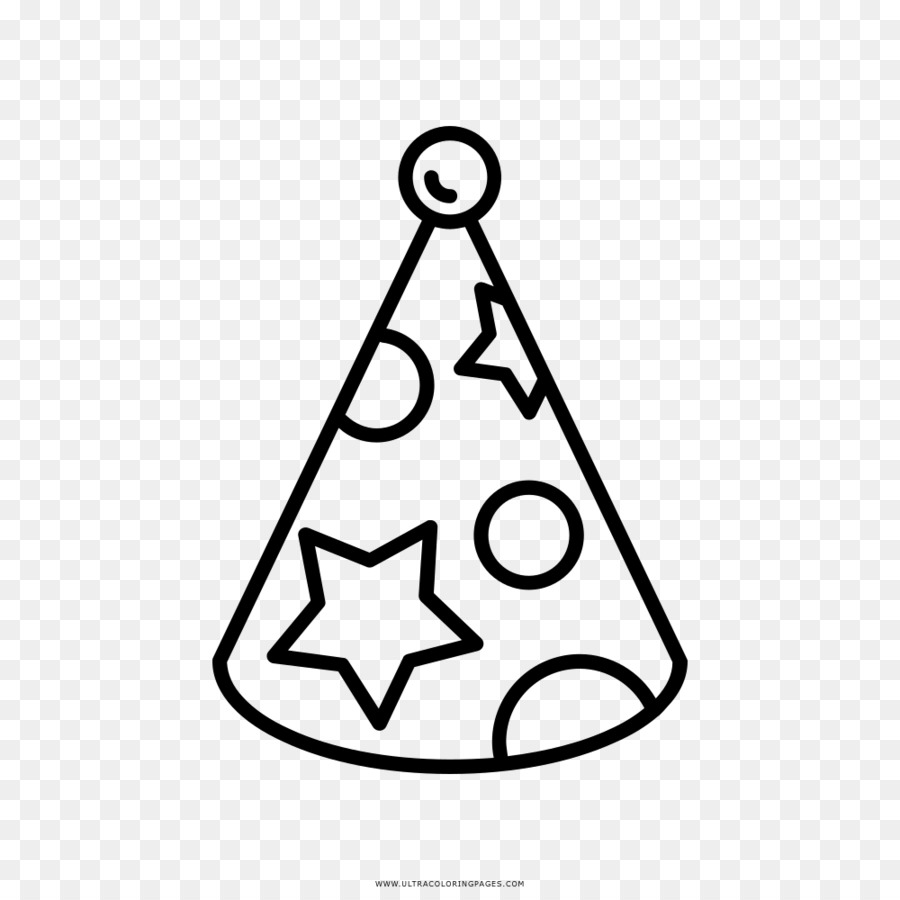 Party Hat Clipart Black And White Party Hat Drawing Birthday Clip Art Party Png Download 1000