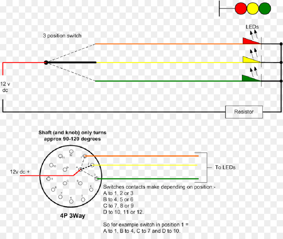 Rotary switch Wiring diagram Electrical Wires  Cable Electrical