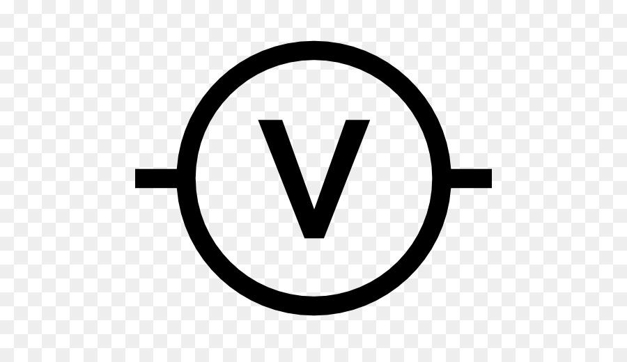 Voltmeter Wiring diagram Symbol Computer Icons - symbol png download