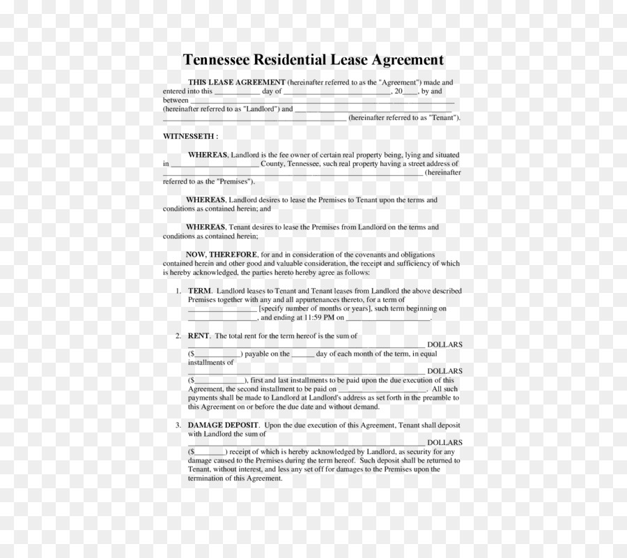 Document Lease Template Rental agreement Contract - Lease Purchase