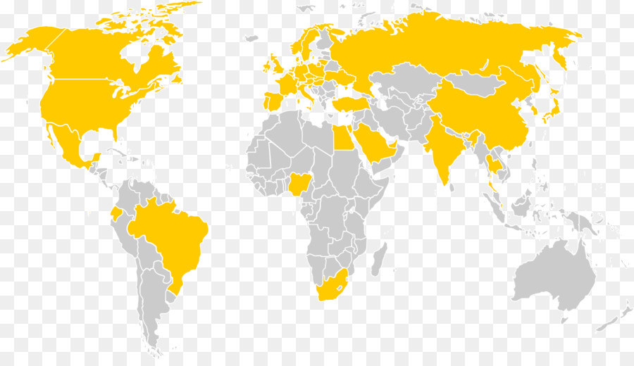 World map Microsoft PowerPoint Ppt - world map png download - 1233