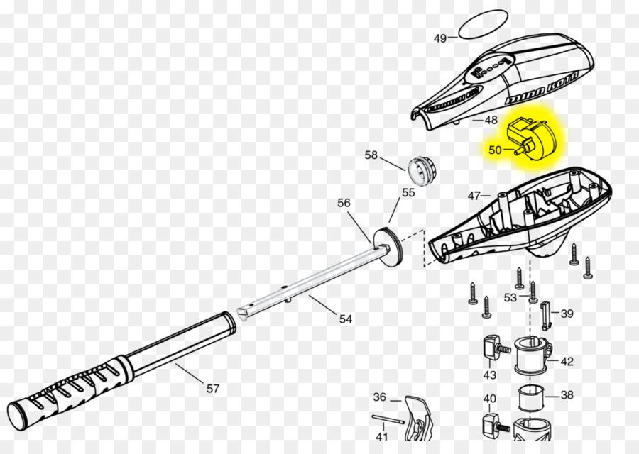 Trolling motor Wiring diagram Electric motor - motor parts png