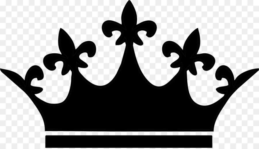 Black Wallpaper Border Tiara Crown Clip Art Crown Silhouette Png Download