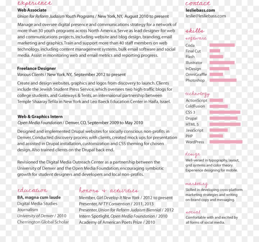 Front-end web development Résumé Web Developer Software Developer - resume web developer