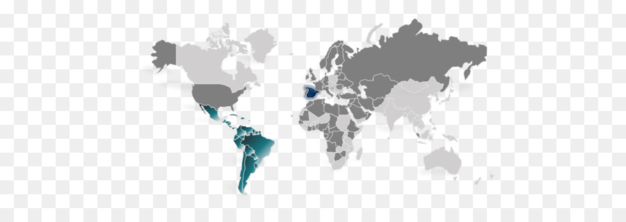 World map Microsoft PowerPoint Presentation - world map png download
