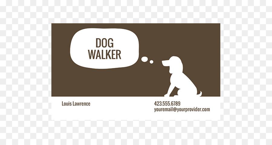 Pet sitting Dog walking Dog grooming Business Card Design Labrador