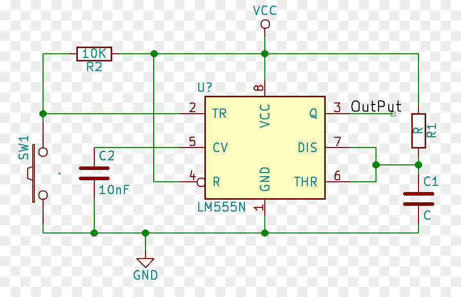 555 timer IC Integrated Circuits  Chips Astable multivibrator