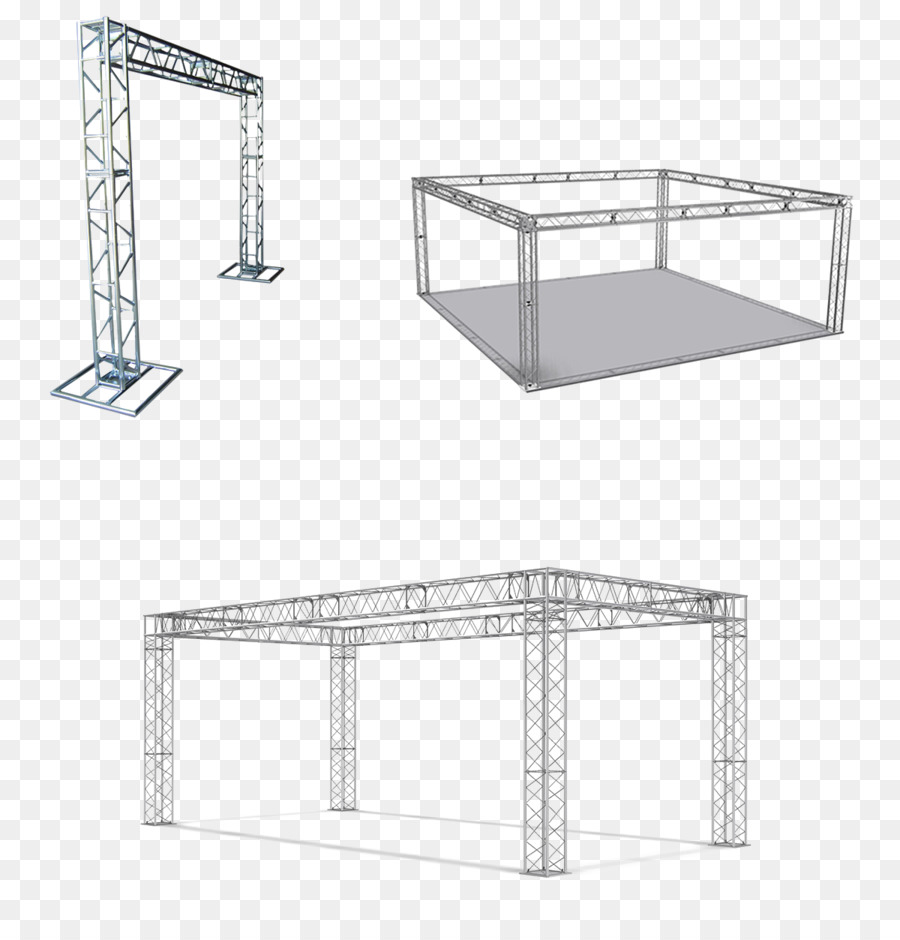 Structure Table Structure Table Truss Steel Spider Locacoes Table Png Download