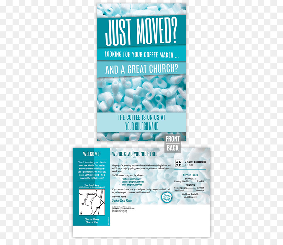 Flyer Water Brand Brochure Line - Church Marketing png download